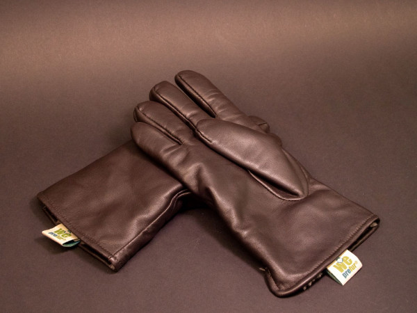 Fingerhandschuh geschorener Bisam